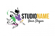 Colorful Dance Logo